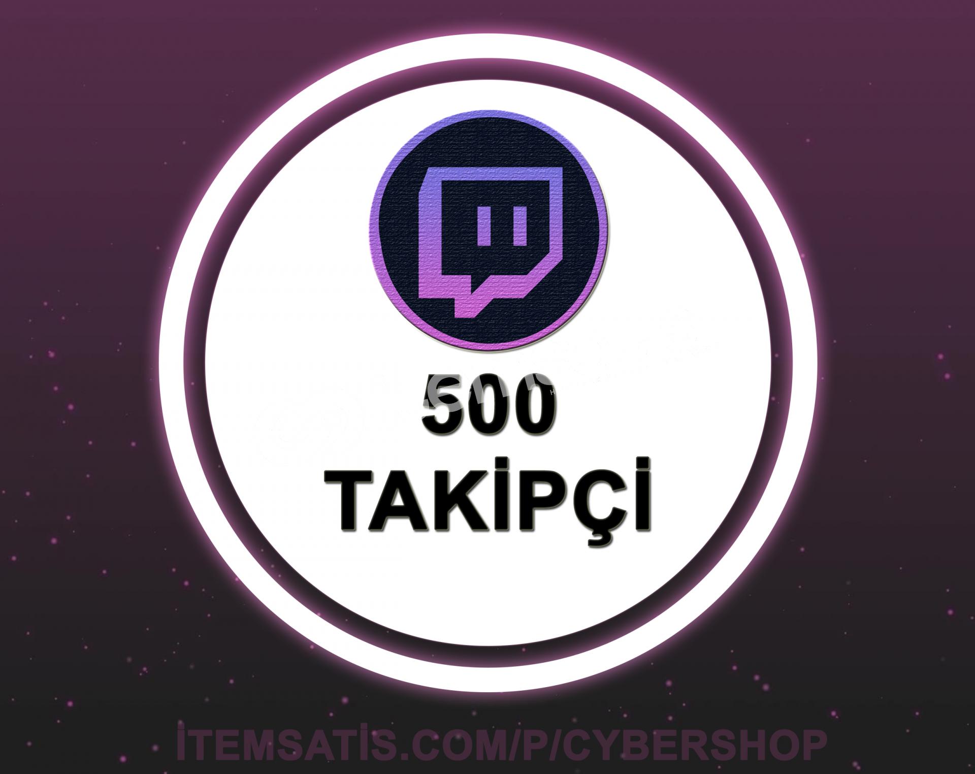 Twitch 500 Takipçi (30 Gün Garantili + Hızlı Teslimat)