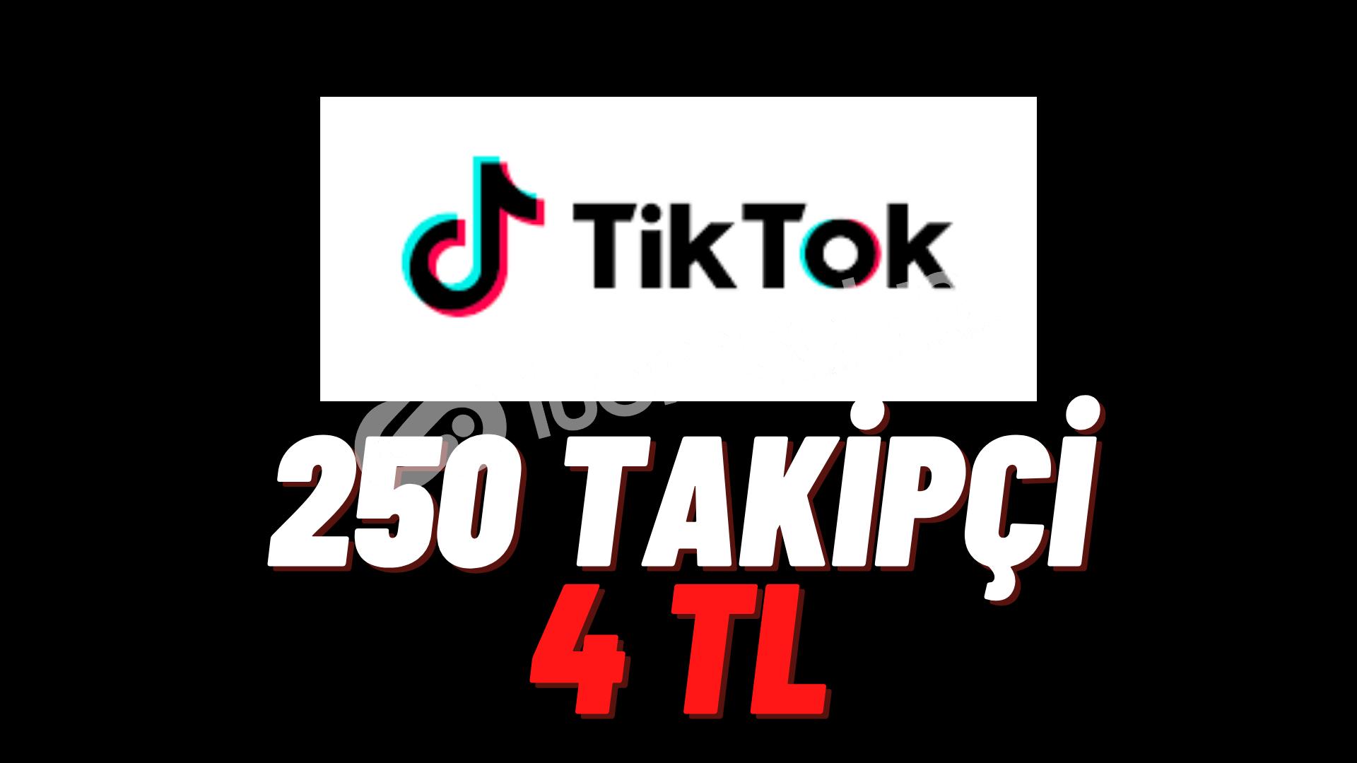 TİKTOK 250 BOT TAKİPÇİ