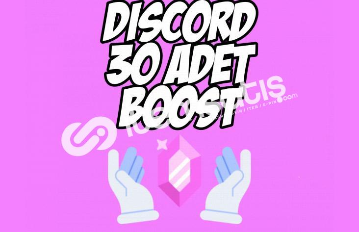 Discord 30x Server Boost !