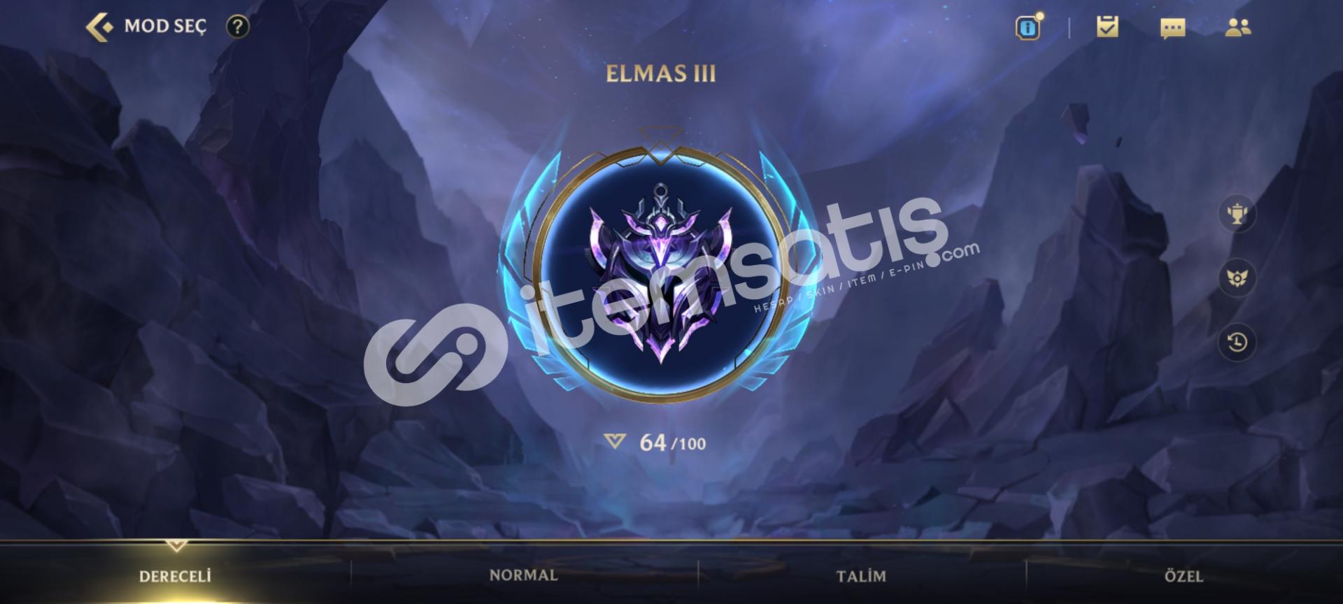 ELMAS 3 WİLD RİFT VE PC