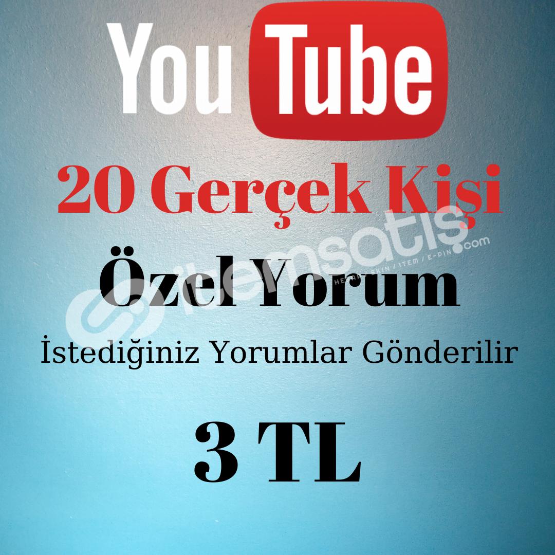 20 GERÇEK KİŞİ ÖZEL YORUM