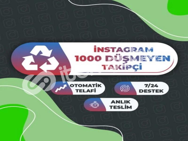 30 GÜN Garanti 1000 Instagram Takipçi Paketi