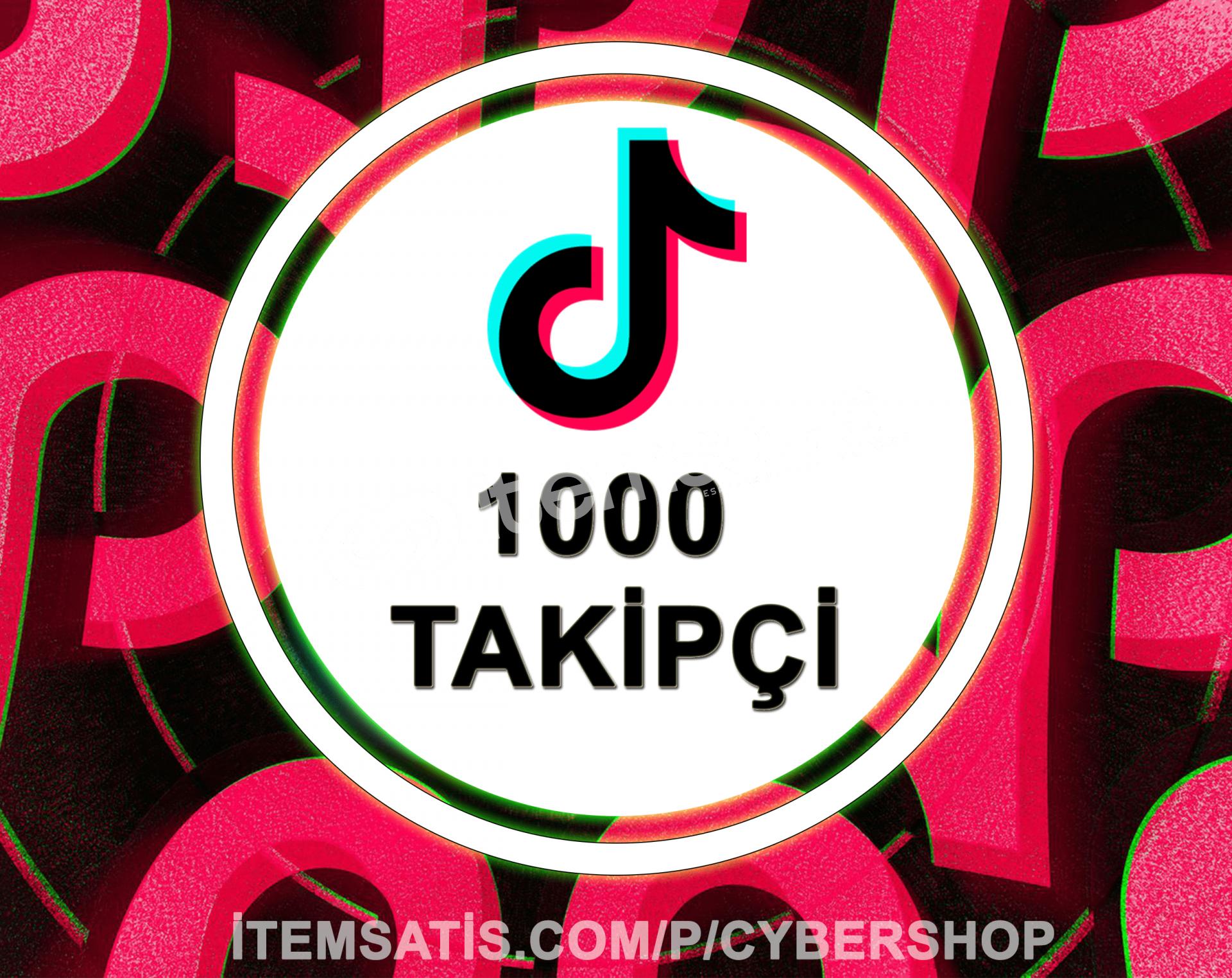TikTok 1000 Takipçi Paketi (Anlık Gönderim)