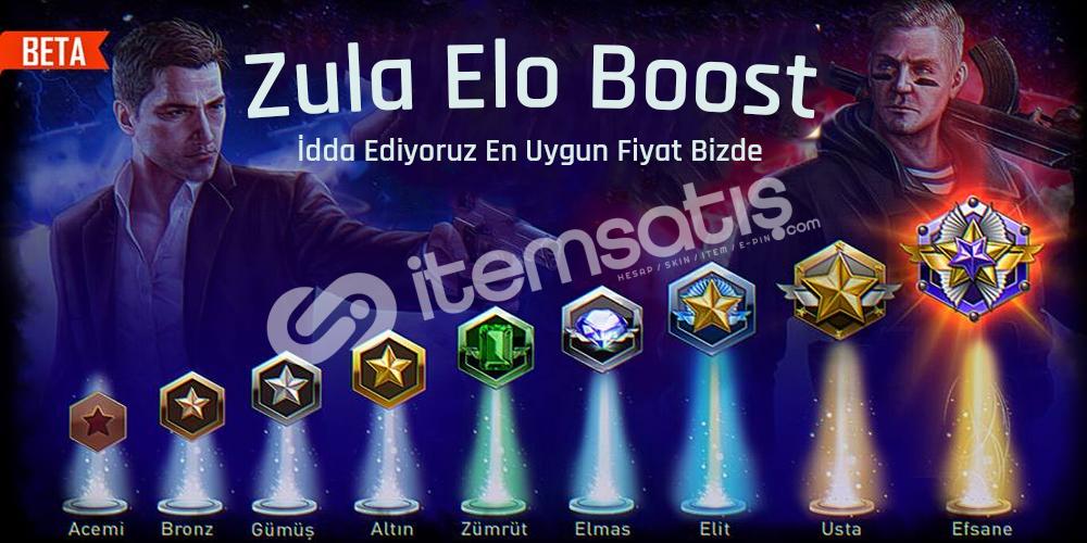 Zula Elo (RANK) Boost