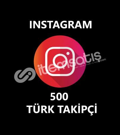500 TÜRK GERÇEK TAKİPÇİ