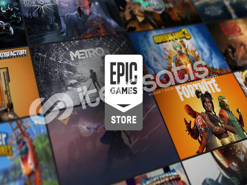 Epic Games - GTA 5 - Control ve Birsürü Oyun...
