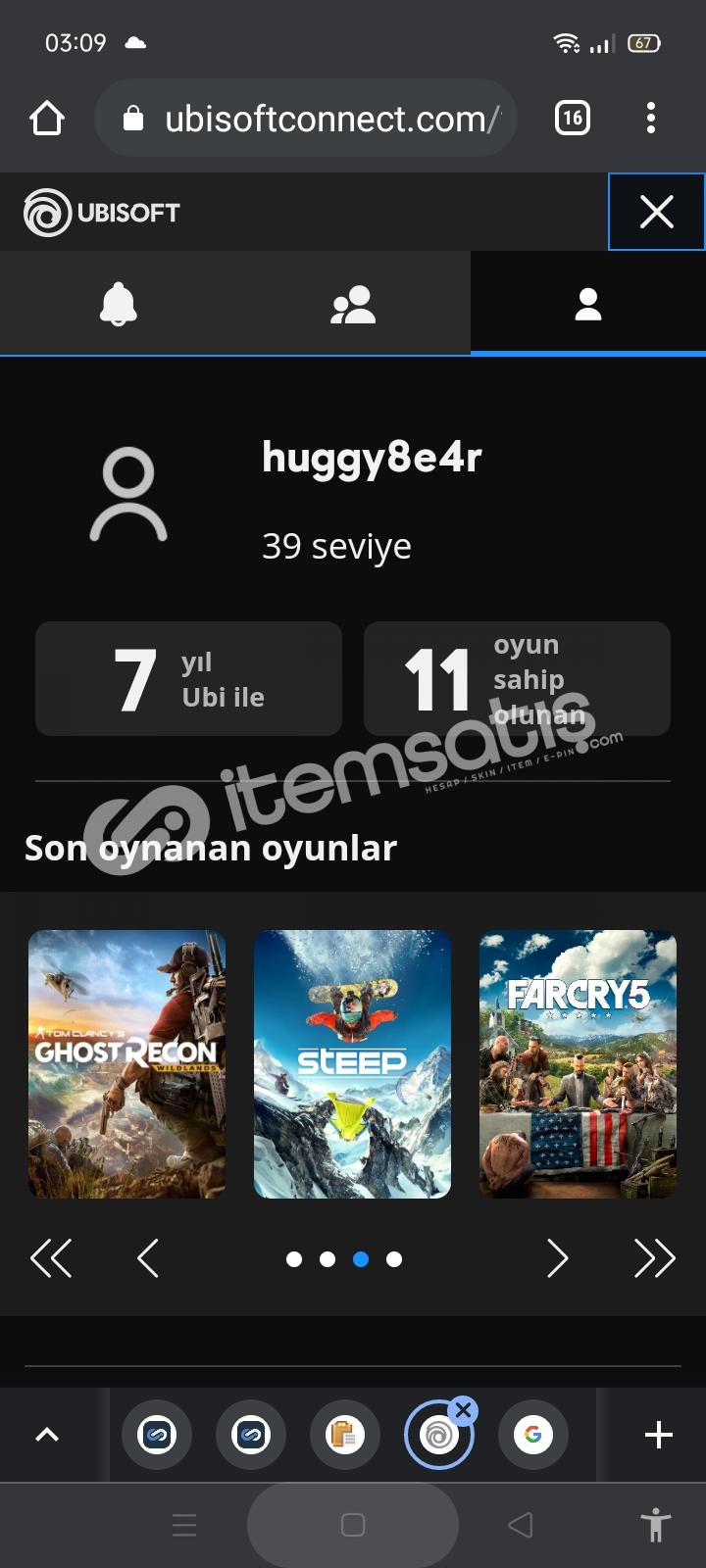 Assassin's Creed Valhalla+ FAR CRY 5+ASSASİN CREED 4 SERİSİ