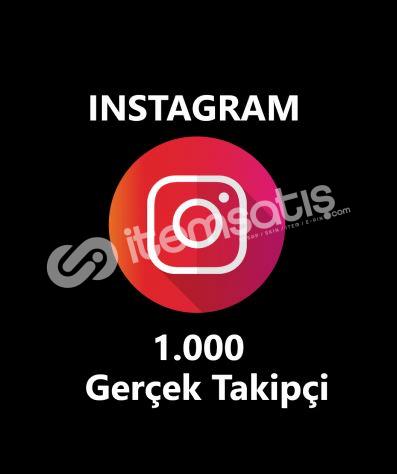 1.000 GERÇEK TAKİPÇİ