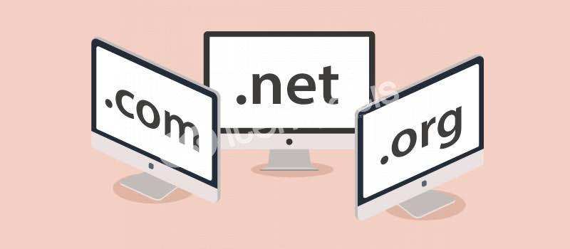 .com/.net/.org domain Yıllık 50 TL