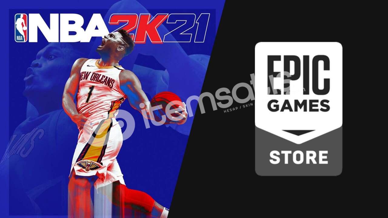 EPİC GAME - GTA5, NBA2K21 + 6 oyun