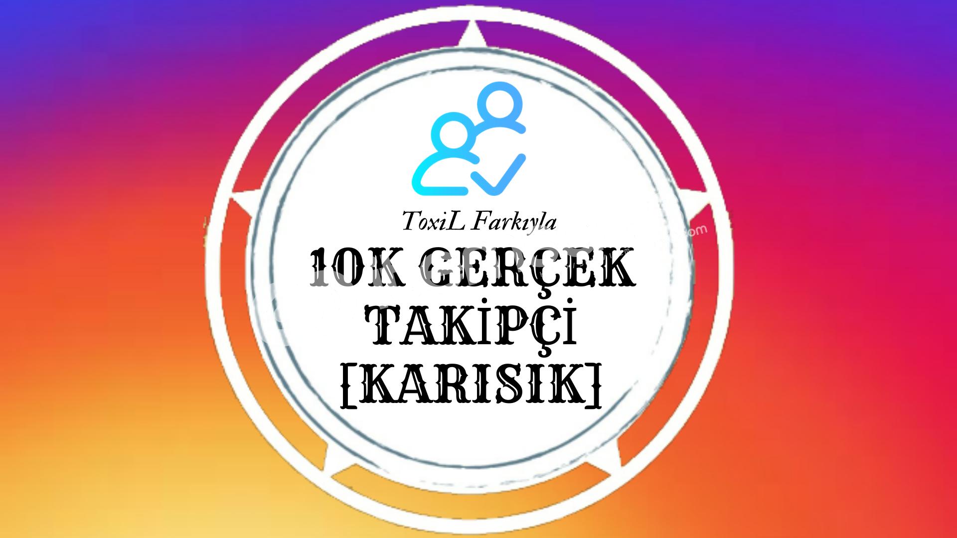 10.000 İnstagram Takipçi Paketi (%30 İndirim)