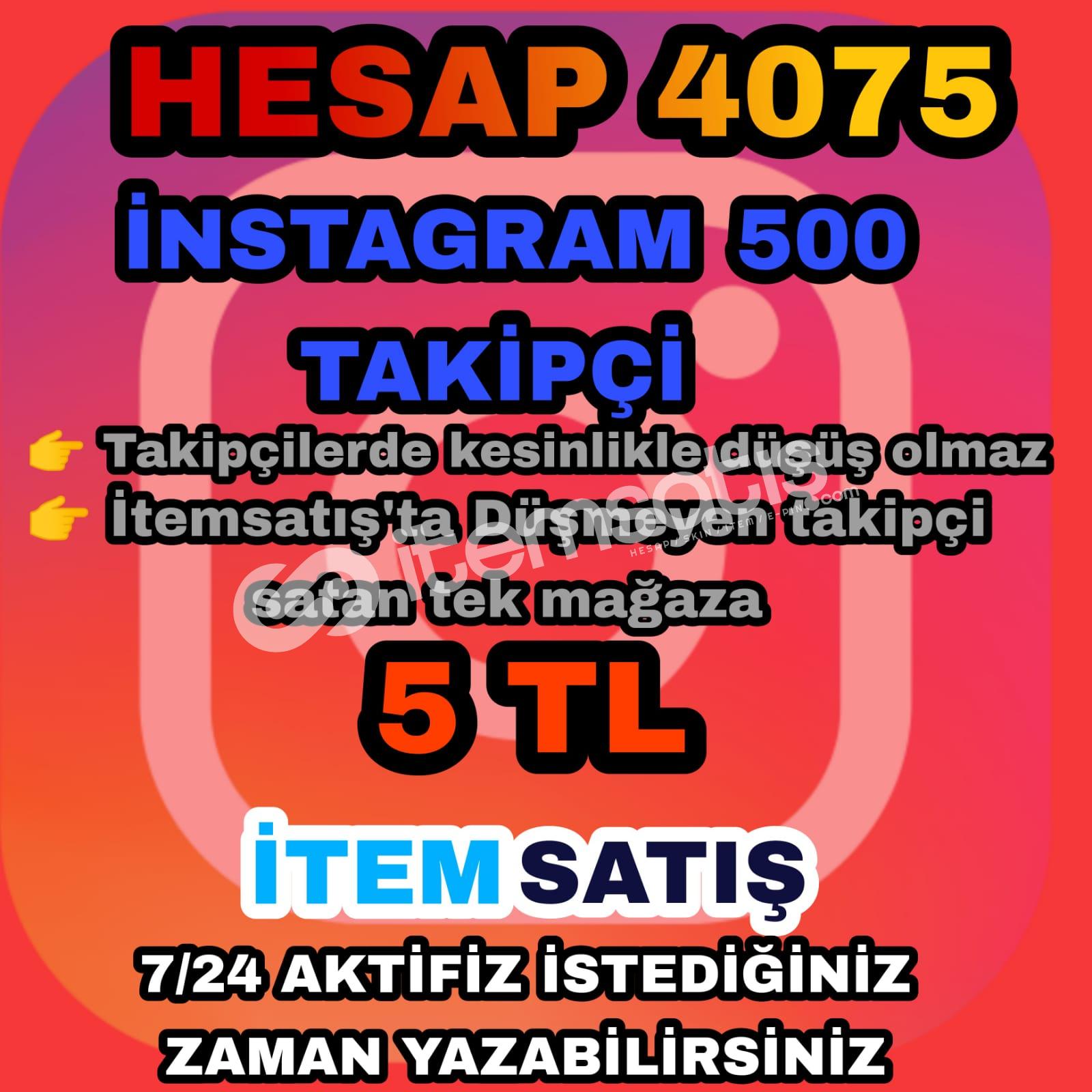 İnstegram 500 takipçi