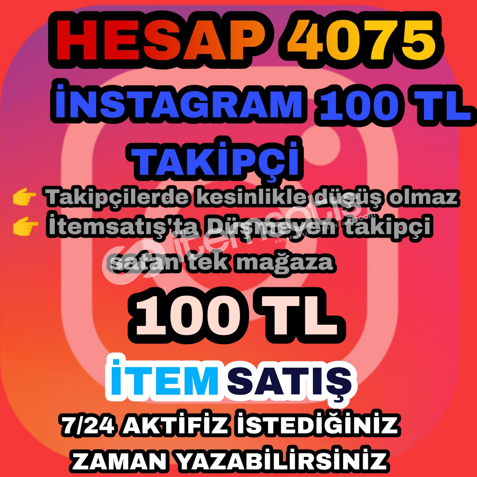 İnstegram 10K takipçi