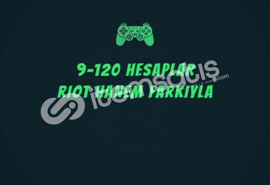 9-120 SKINLI RANDOM VIP HESAPLAR %90TR