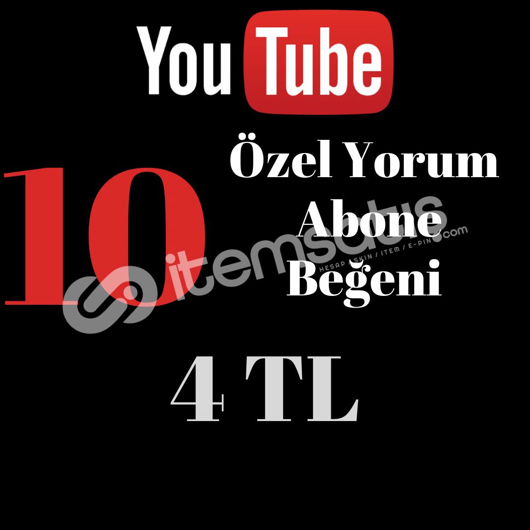 YOUTUBE ÖZEL PAKET 4 TL