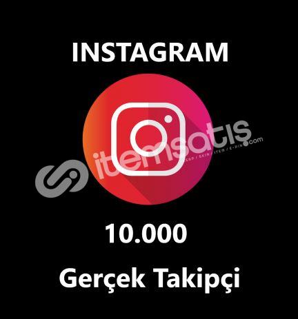 10.000 GERÇEK TAKİPÇİ