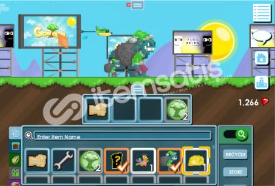 Growtopia 54 seviye hesap +goblin +supporter