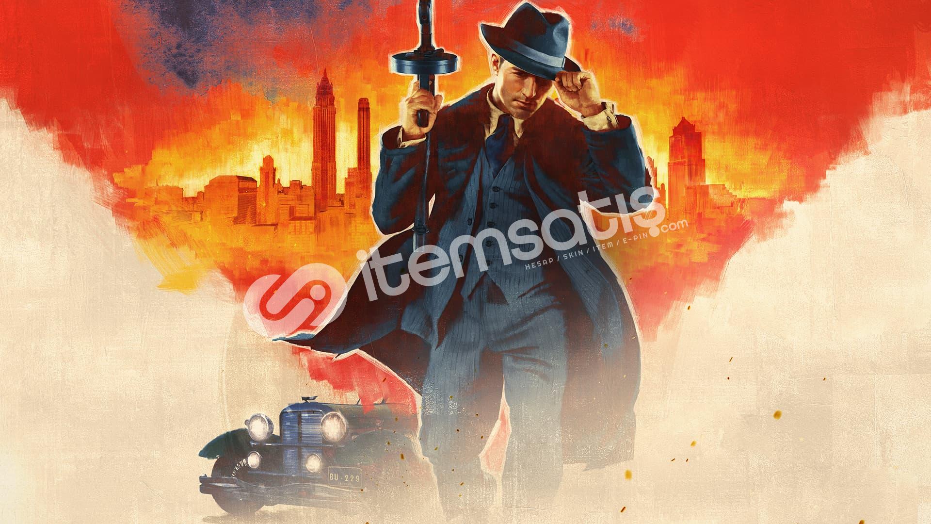 Mafia: Definitive Edition olan steam hesabı