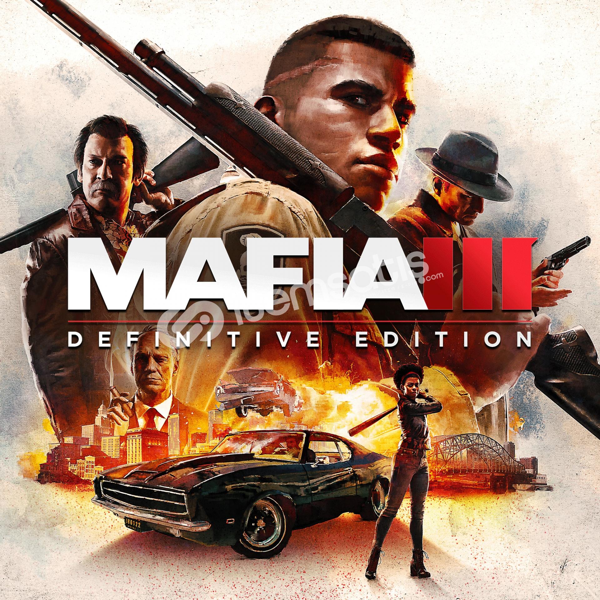 Mafia 3 Bulunan Steam hesabı