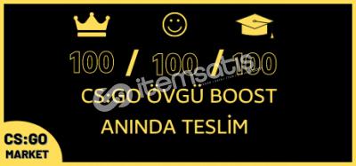 300 ADET ÖVGÜ BOOST! ANINDA TESLİM