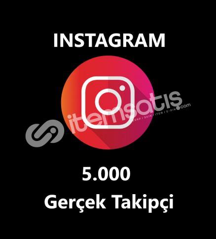5.000 GERÇEK TAKİPÇİ