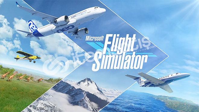 Flight Simulator 5TL+2Tane Hediye Oyun