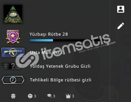 SEÇKİN MG1 HESAP +40TL ENVANTER