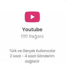 Youtube 100 Like 7 TL Düşmelere Karşı Telafili