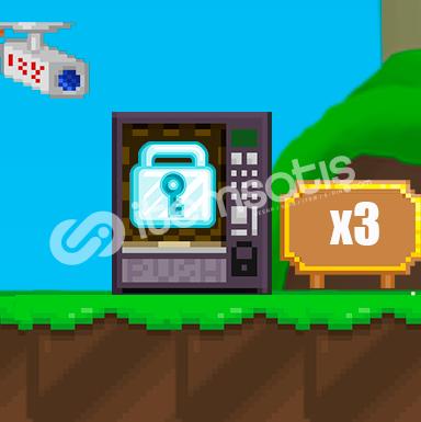 Growtopia 3X DL - 1 Saat Gecikirse +1 DL Hızlı ve Güvenilir