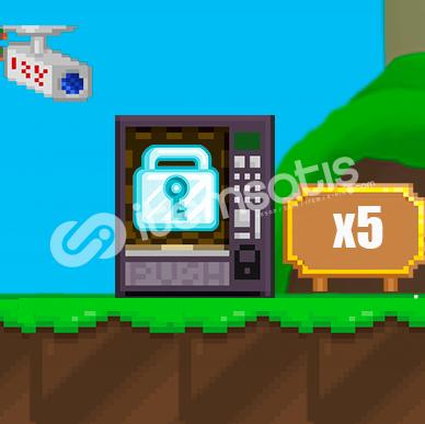 Growtopia 5X DL - 1 Saat Gecikirse +1 DL Hızlı ve Güvenilir