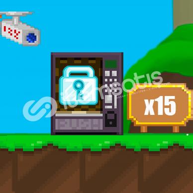 Growtopia 15X DL - 1 Saat Gecikirse +1 DL Hızlı ve Güvenilir