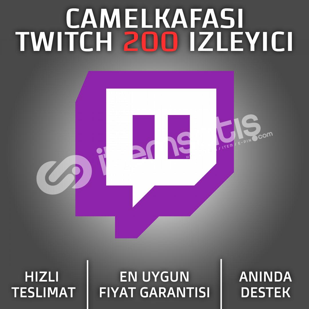 Twitch 1 Saat 200 İzleyici