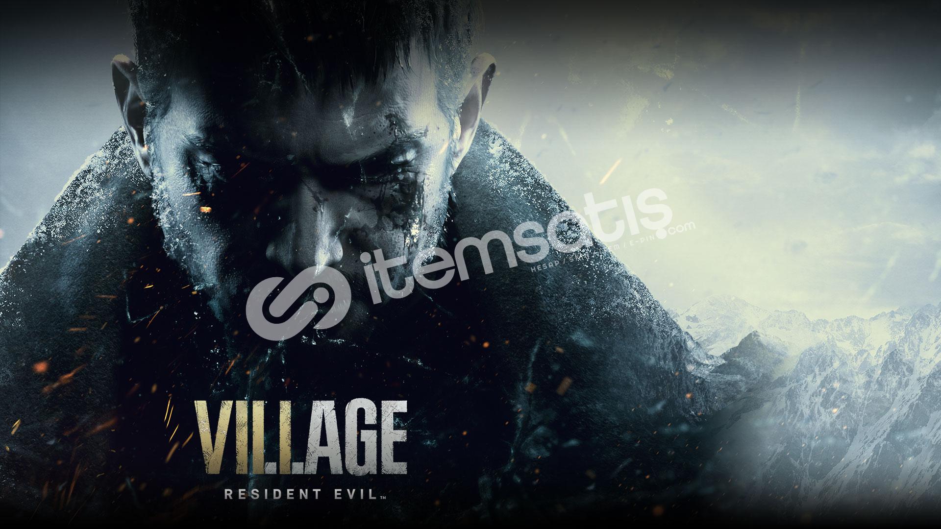Resident Evil Vallage bulunan steam hesabı