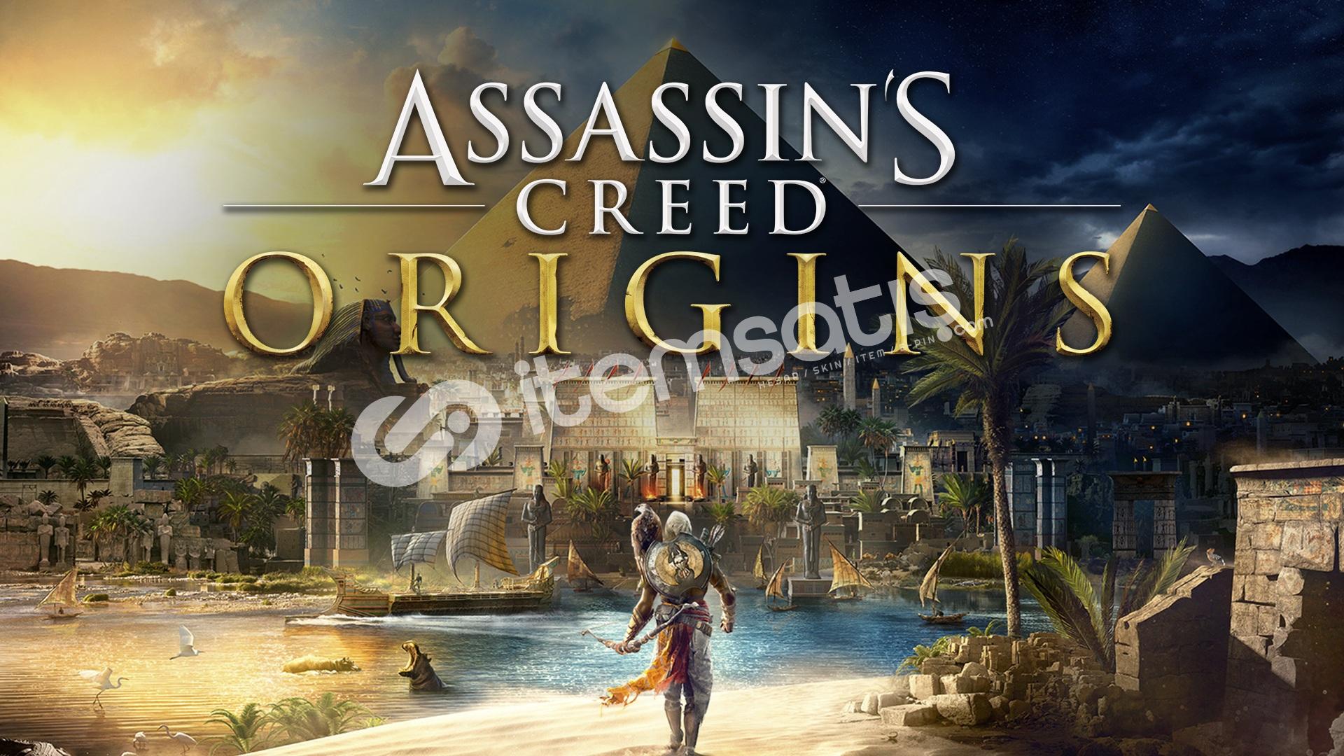 Assassin's Creed Origins olan Uplay hesabı