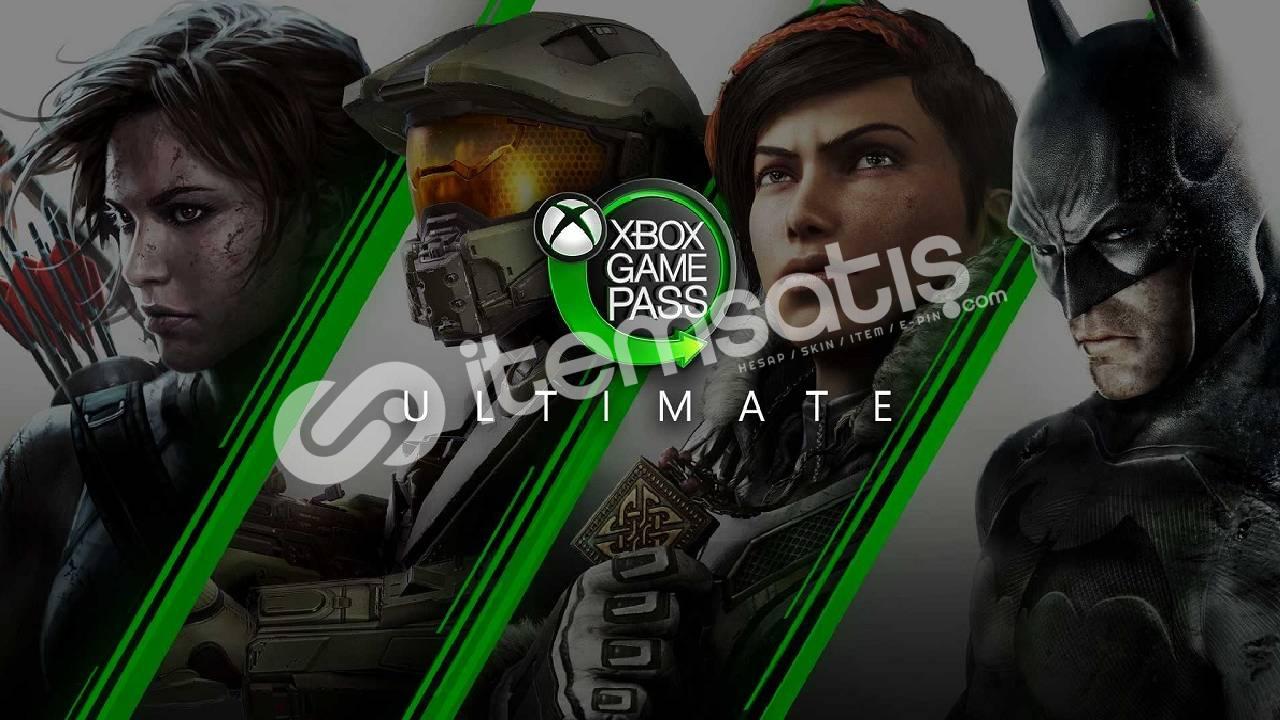 (ONLİNE) SINIRSIZ Xbox Game Pass Ultimate