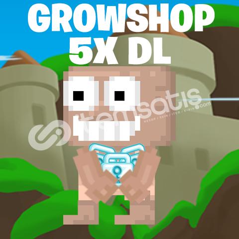 Growtopia 5x Diamond Lock