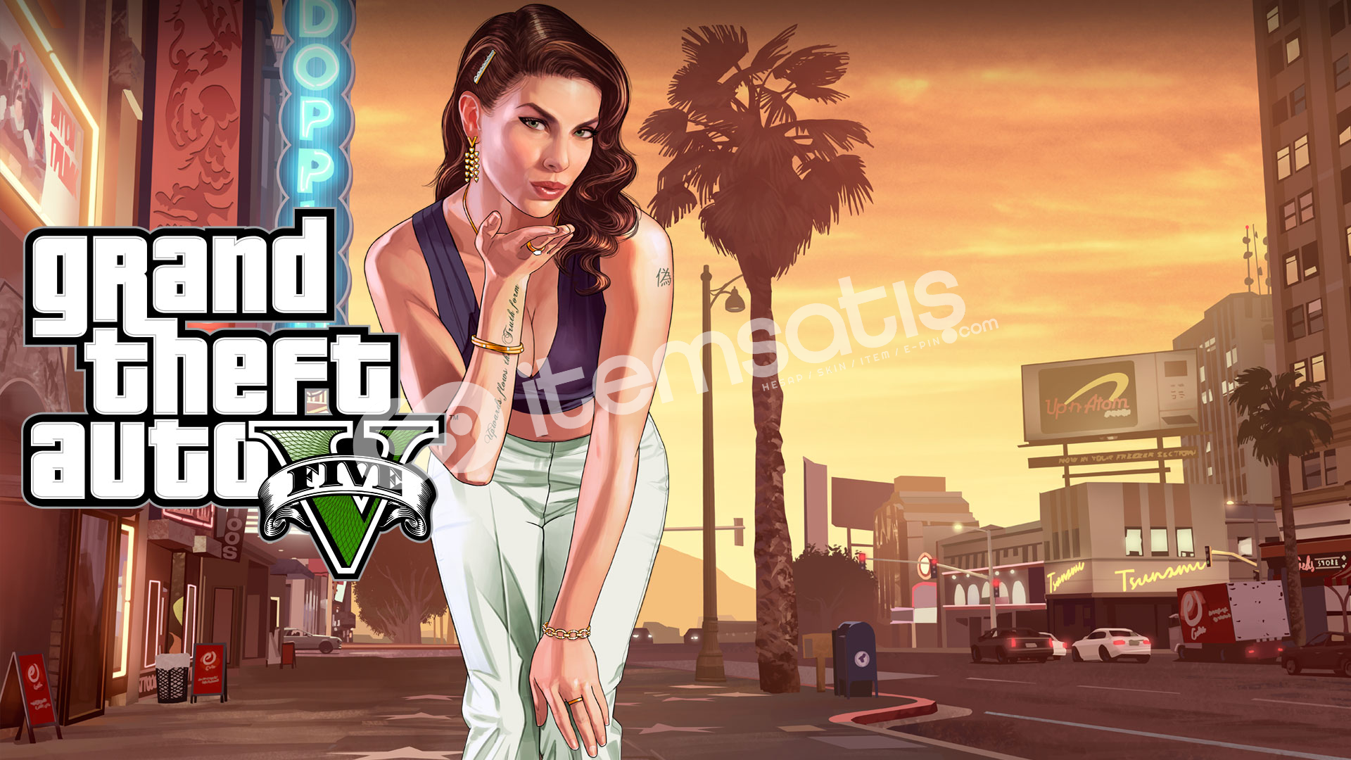Grand Theft Auto V (GTA 5) Bulunan Steam hesabı