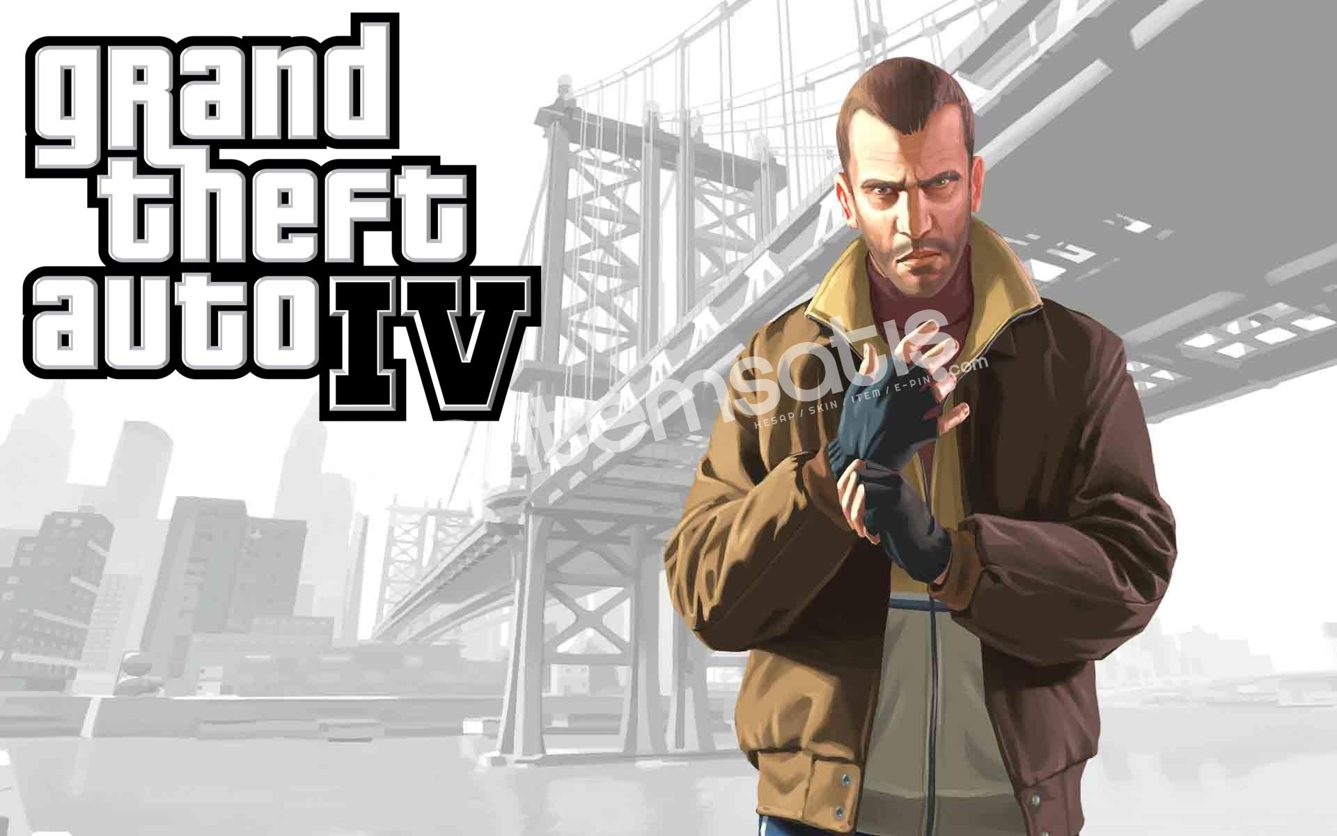 Grand Theft Auto IV Bulunan Steam Hesabı