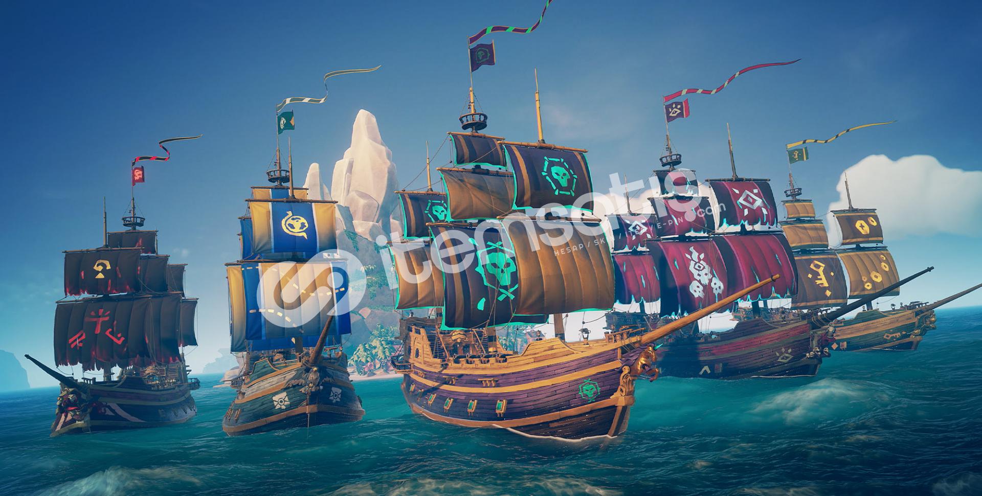 Sea of Thieves bulunan Steam hesabı
