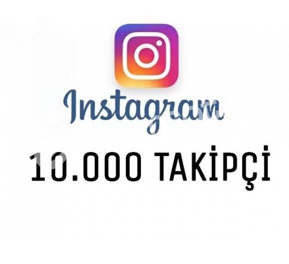 İnstagram 10.000 Takipçi (Garantili)