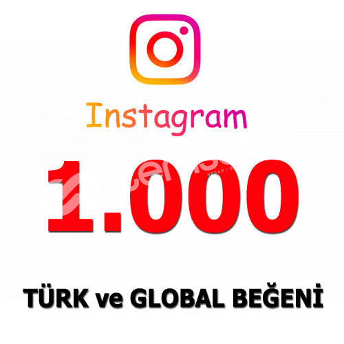 İnstagram 1.000 Beğeni
