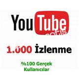 YouTube 1.000 Video Görüntüleme İzlenme