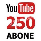 YouTube 250 Abone