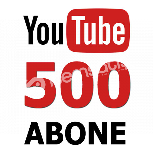 YouTube 500 Abone