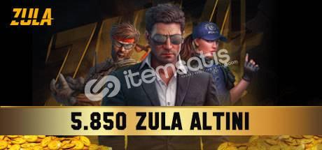 5. 850 Zula Altın