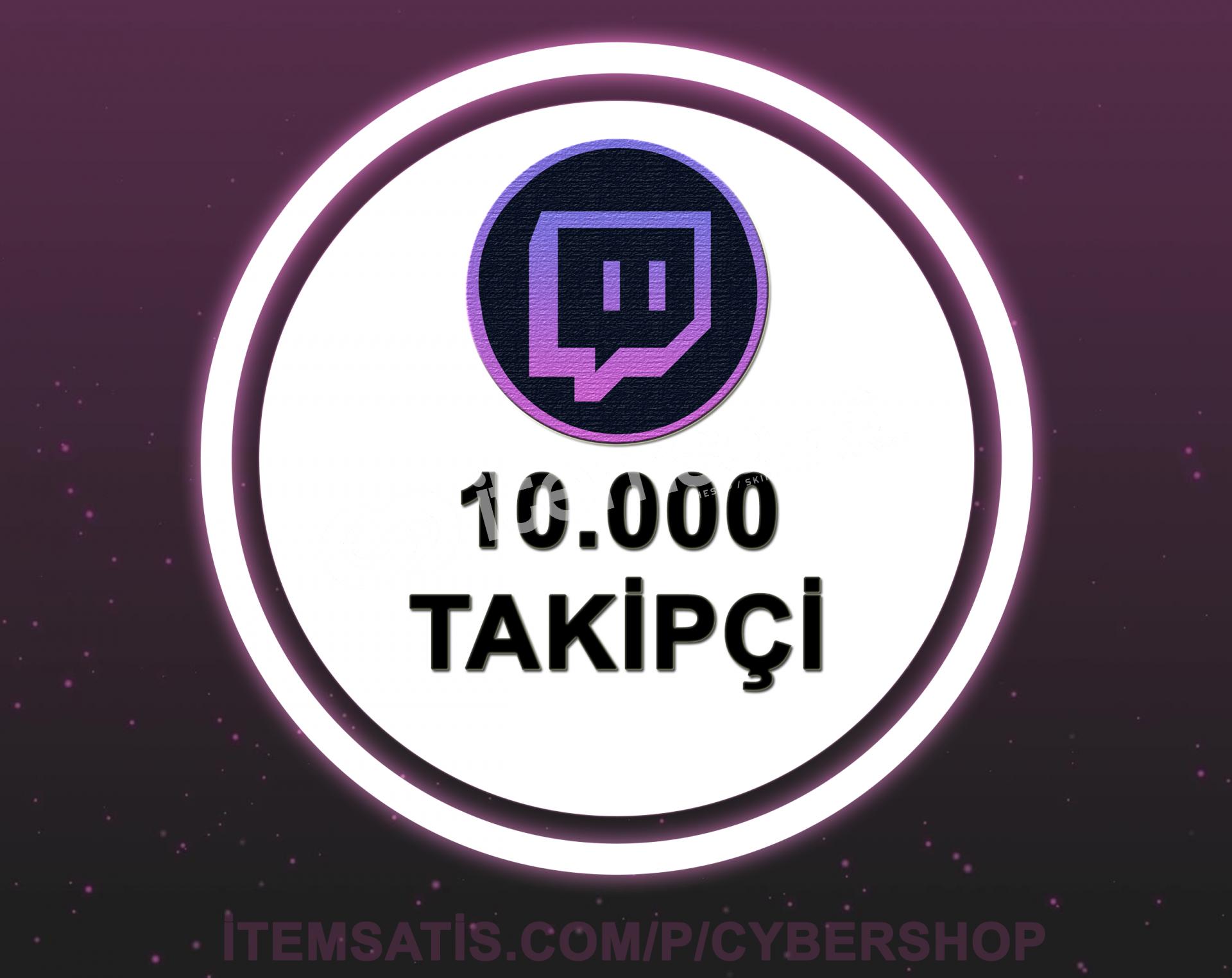 Twitch 10000 Takipçi (30 Gün Garantili + Hızlı Teslimat)