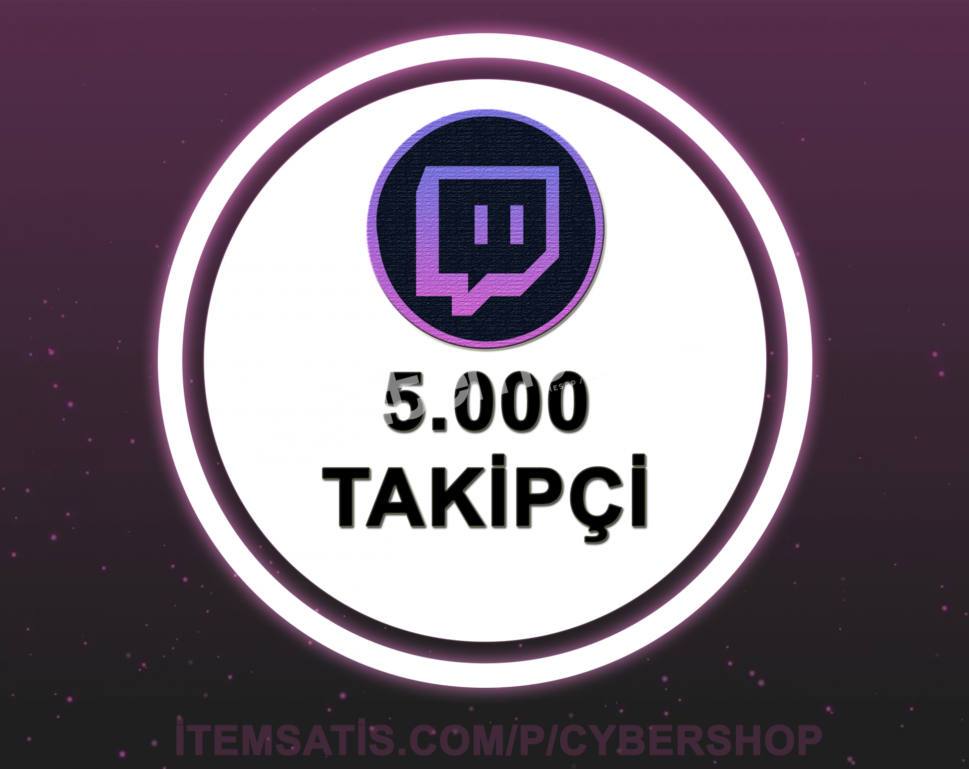 Twitch 5000 Takipçi (30 Gün Garantili + Hızlı Teslimat)