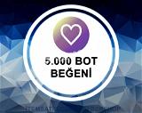 5000 BOT Beğeni Paketi (Anlık Gönderim)
