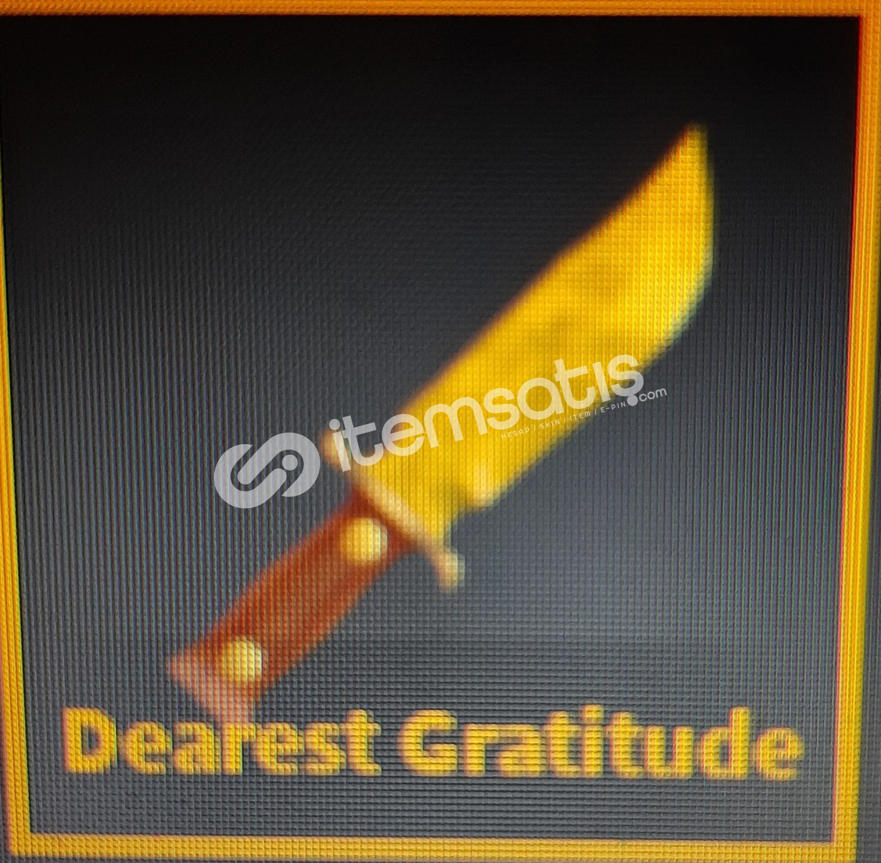 Roblox kat(Dearest Gratitude)
