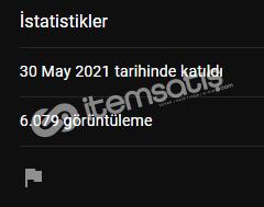 Youtube 6.079 İzlenmeli Kanal